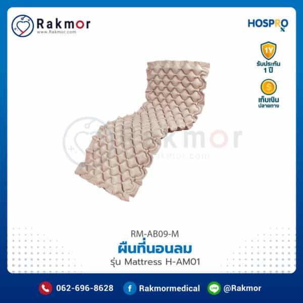 ผืนที่นอนลมรังผึ้ง Hospro รุ่น H-AM01 รหัส RM-AB09-M